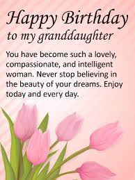 You have a new superpower. To My Lovely Granddaughter Happy Birthday Wishes Card Birthday Greeting Cards By Davia Happy Birthday Wishes Cards Birthday Wishes Messages Grandaughter Birthday Wishes