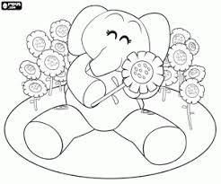 Small Picture Pocoyo coloring pages printable games