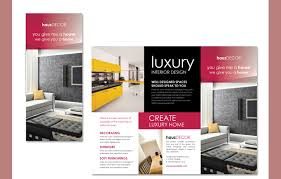 Brochures Templates Free Download 22 Interior Decoration Brochure Templates Word Psd Pdf Eps
