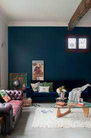 Dark Blue Painted Rooms essential colour: navy blue. decorating tips and  tricks