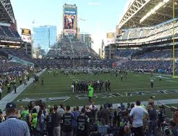 Seattle Seahawks Stadium Seating Chart Rows Centurylink Field Section 124 Seat Views Seatgeek
