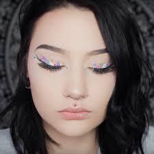 colorful fl eyeliner is insram s biggest spring beauty trend