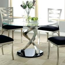 glass high top dining table round glass top dining tables with wood base