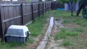Backyard Drainage Problem  YouTubeDrainage In Backyard