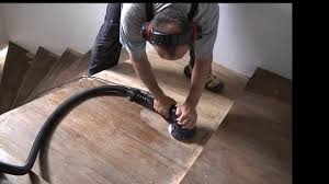 sanding a staircase refinish sand stain laquer wooden stairs you