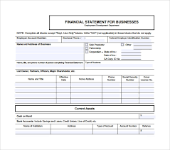Template Of Statement Sample Business Statement Template 7 Free Documents In Pdf