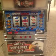 Harley Davidson Vending Machine Stunning Find More Harley Davidson Slot Machine Comes With 48 Playing Coins