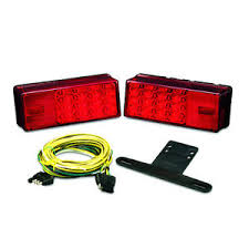 wesbar led waterproof trailer light kit with 25 ft wiring harness wesbar wiring diagram image is loading wesbar led waterproof trailer light kit with 25