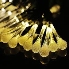 Promotionele De Tuin Decoratie Licht 30leds 197ft Waterdruppels