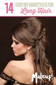 stunning easy diy hairstyles for lengthy hair