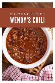if you love wendy s chili you re in luck here s how to make