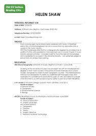 How To Write Resume Uk Original Cv Starter Better Your Resumes