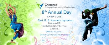 chettinad college of engineering technology annual day 2015