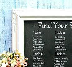 Wedding Seating Chart Ideas Pinterest Wedding Table Plan Ideas Shirmin Info