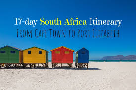from cape town to port elizabeth