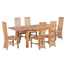 arreola 7 piece extendable solid wood dining set
