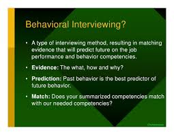 Behavioral Interviewing What Is Behavioral Interviewing Barca Fontanacountryinn Com