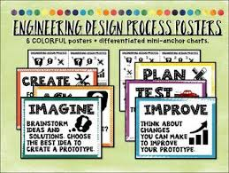 Engineering Design Process Stem Posters And Mini Anchor