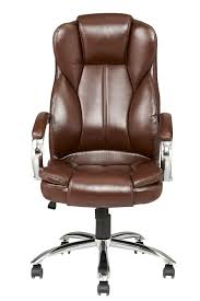 high back pu leather executive office desk task computer chair w brown leather executive chairs