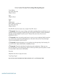 Sample Letters Invitation Meeting New Letter Example A Business