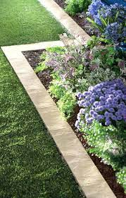 garden border edging ideas uk