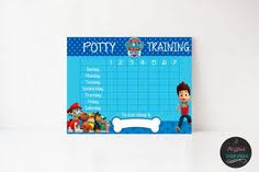 Potty Training Chart Printable Paw Patrol 52 Best Potty Training Images Potty Training Potty