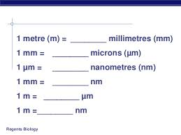 Convert Microns To Millimeters Convert Mm In Microns