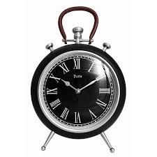 27cm remy black wall clock