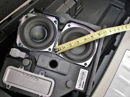 bose car subwoofer. bose infiniti jx35 audio system subwoofer \u2013 image 1 car e