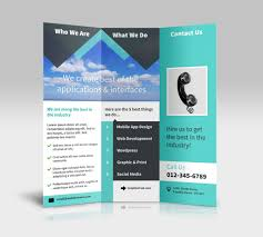 brochure templates for publisher best agenda templates brochure 3 fold template psd