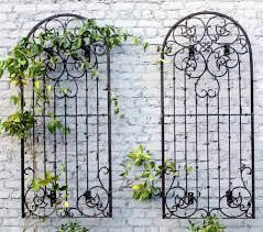 wall art metal garden trellis garden