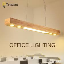 trazos office pendant lights wood and embedded warm white lights restaurant bar coffee dining room led hanging light fixture large pendant contemporary