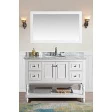 bathroom vanities 48 inch. Ari Kitchen And Bath Cape Cod White 48-inch Single Bathroom Vanity Set With  Mirror Bathroom Vanities 48 Inch B
