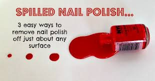 Getting nail polish out of carpet Hacks Easy Ways To Remove Nail Polish Off Carpet Clothes And Wood Happy Money Saver Remove Nail Polish From Almost All Surfaces Using Household Items