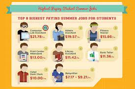 Summer Jobs Bring Your Summer Job Skills To Campus