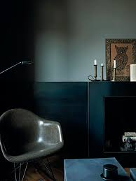 Hilary Robertson's new book : Monochrome Home | Dark interiors, Blue  interior paint, Home