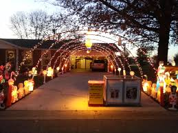 Driveway Tunnel Christmas Lights Driveway Tunnel Needs Fixed Arches Of Lights