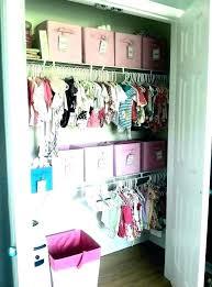 baby closet organizers ideas organizer storage nursery