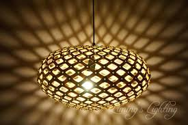 bamboo oak wood c chandelier modern creative fixtures simple wooden cage ball rustic wo wood beam cage accented chandelier