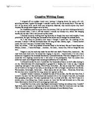 creative writing essay gcse english marked by teachers com page 1 zoom in