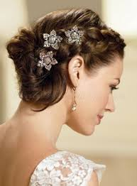 Hairstyle Brides braided wedding hairstyles braided hairstyle for brides 5449 by stevesalt.us