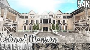 French Mansions Designs French Colonial Mansion Exterior Nixilia Roblox Bloxburg