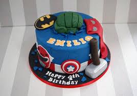 Avengers Birthday Cake Cakes Design