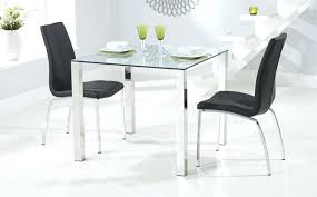 dining table set round glass square glass dining tables sets ikea dining table set glass
