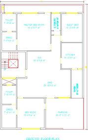 autocad free house design 40x60 pl10