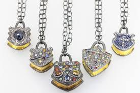 jewels lock diamond lock pendant