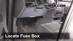 interior fuse box location 2004 2007 ford freestar 2004 ford 2005 ford freestyle owner's manual at 2005 Ford Freestyle Interior Fuse Box Diagram
