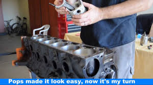 ford falcon six cylinder engine build
