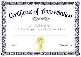 Blank Award Certificate Templates Word As Well As Blank Award ...