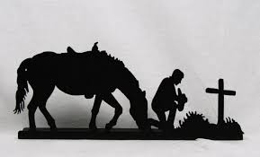 wall art ideas western metal silhouettes explore 7 of 20 photos ripping cowboy silhouette
